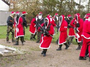 Santa-attack