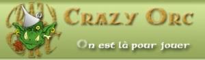 Crazy orc logo