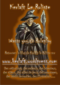 Flyer Kerlaft le Roliste