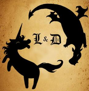 licorne et dragon logo